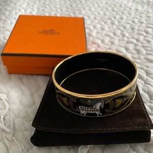 Authentic Hermes Grand Apparat bangle
